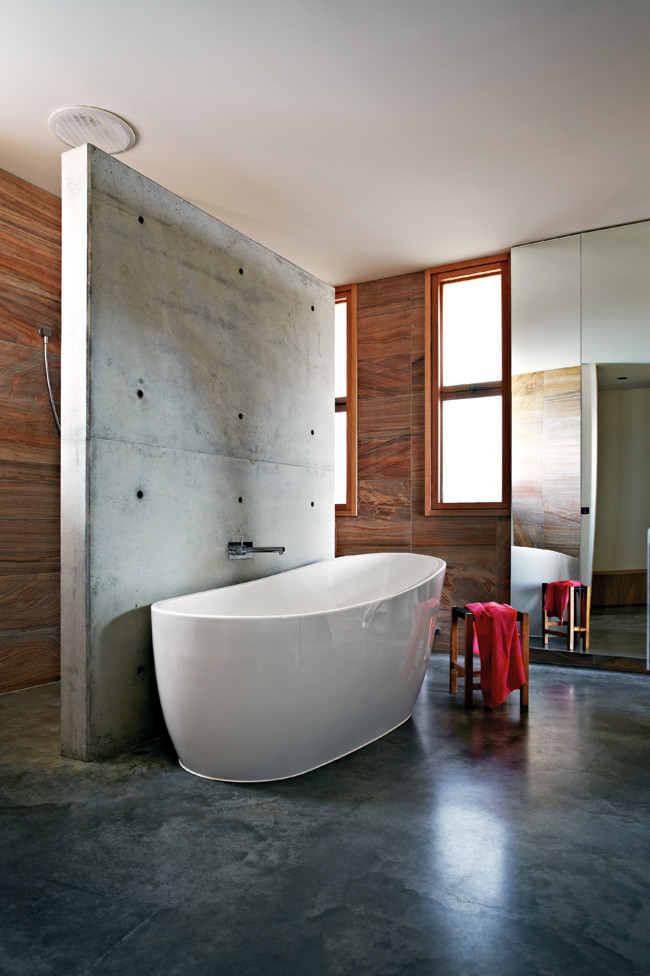 Modern Coastal Home in Australia ideasgn bathroom