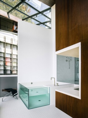 Glass Bathtub