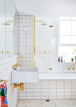 Brass Bathroom