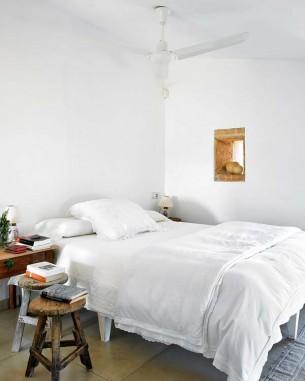 Pure White Bedroom