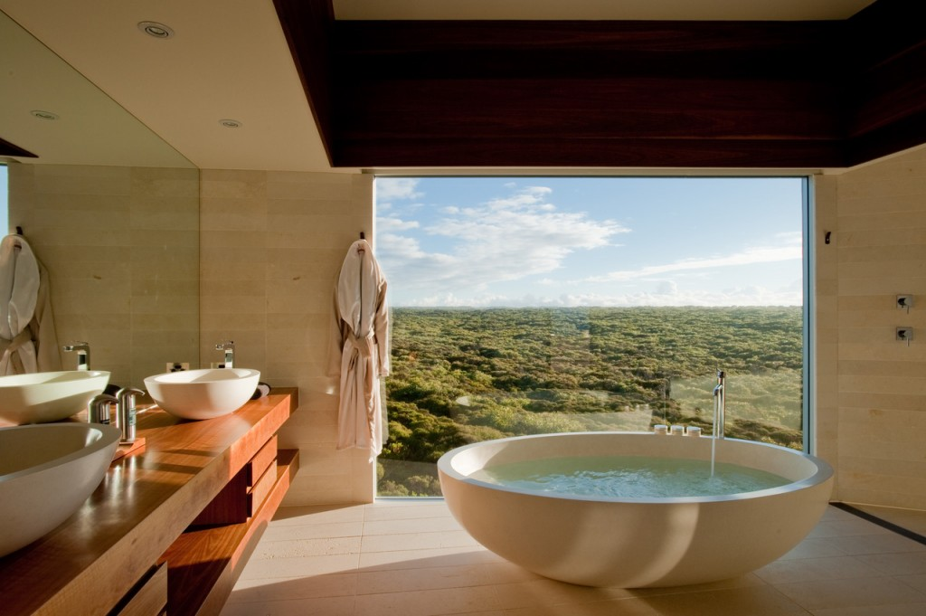 Southern Ocean Lodge Spa resort idea+sgn Australia by Max Pritchard Architect