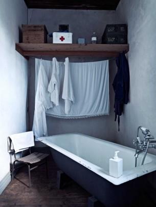 1925 Sweden House Bathroom