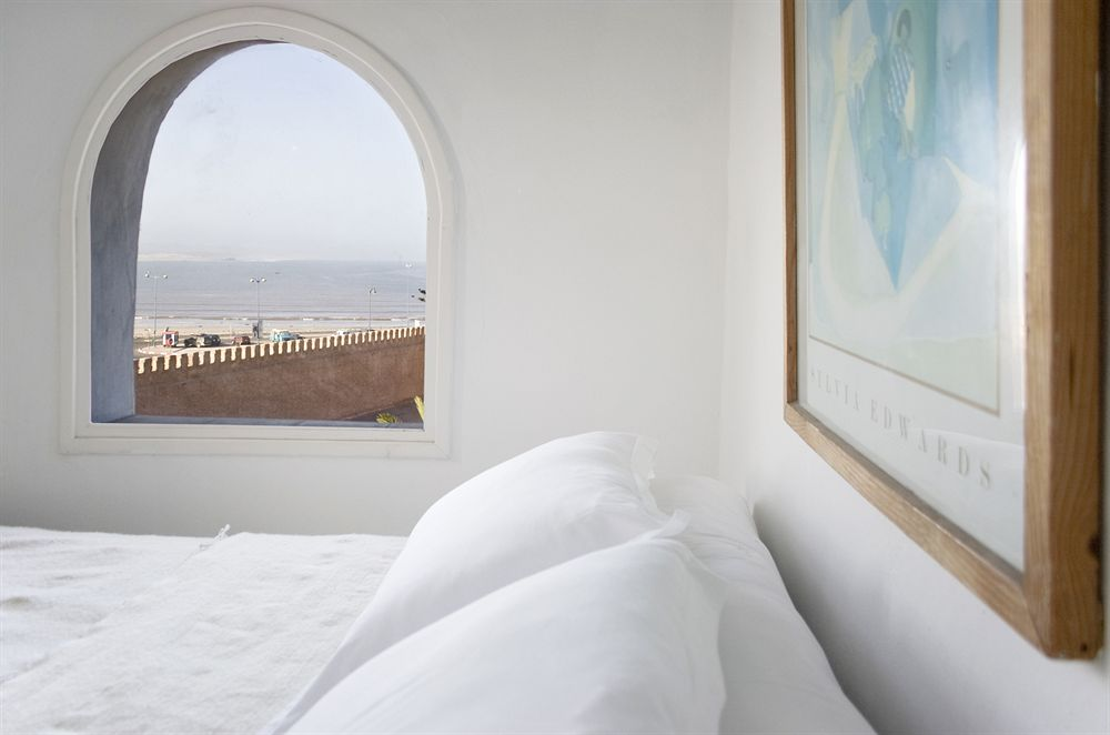 Bed Seaview of Villa Maroc Hotel Essaouira