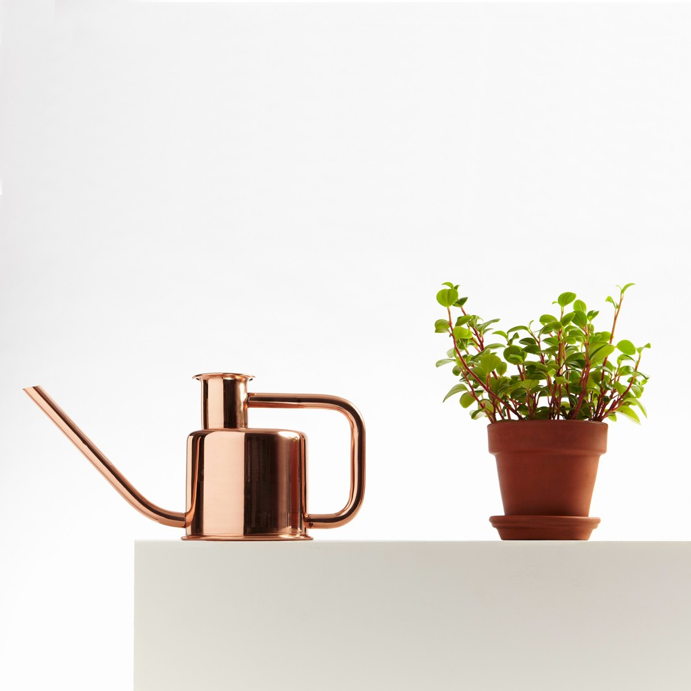 Copper x3 watering can designed by Paul Loebach