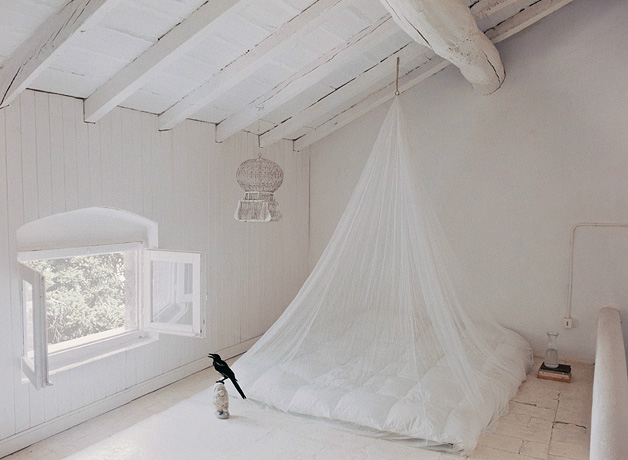 Cristina Nava progettazione styling Birdcage Bed Denise Bonenti for Merie Claire Maison