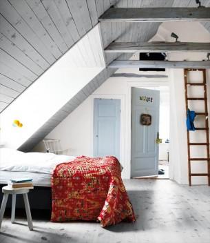 Danish Loft Bedroom