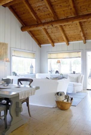 Nordic Cottage Living Room