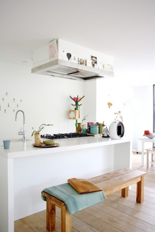 Bright and airy Dutch Kitchen
