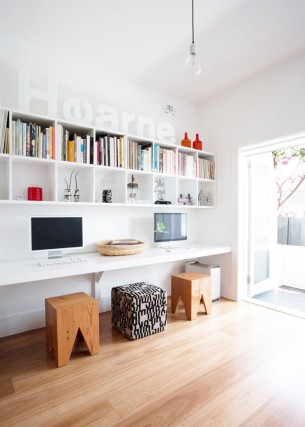 Inspiring Office Space in Bedroom