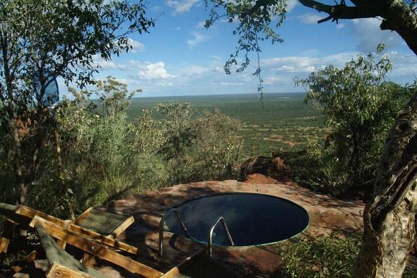 Outdoor mini pool Baden