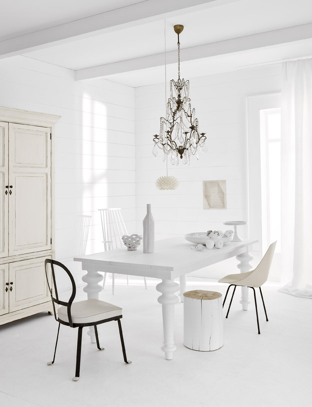 White Interiors Photos with Studio Job Furniture