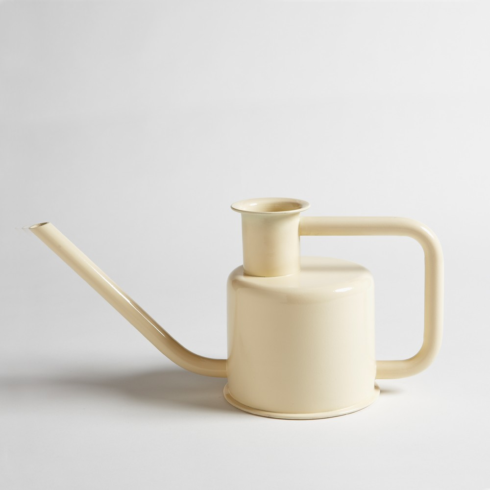 white x3 watering can designed by Paul Loebach