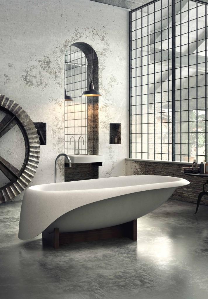 Glass Idromassaggio Concrete Design Studio