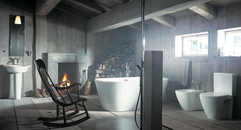 Rustic Bathroom Design ideas by Gunni Trentino