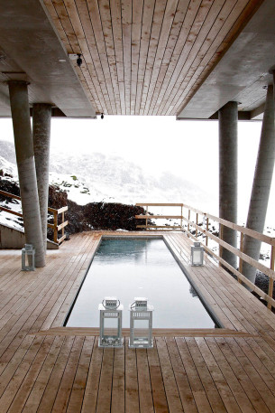 Iceland Geotherm Spring Pool
