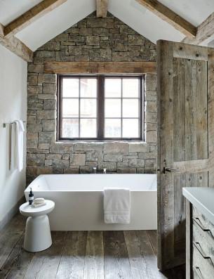 Rustic Redux Bathroom
