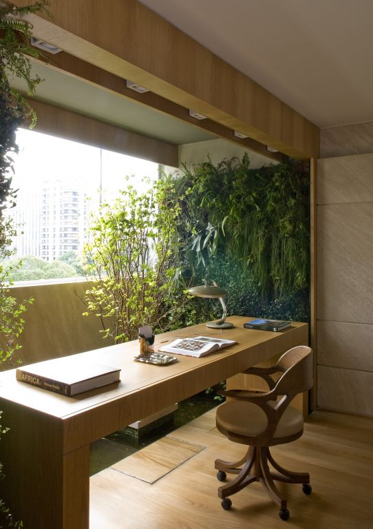 Natural workspace dream house for Zen office design ideas