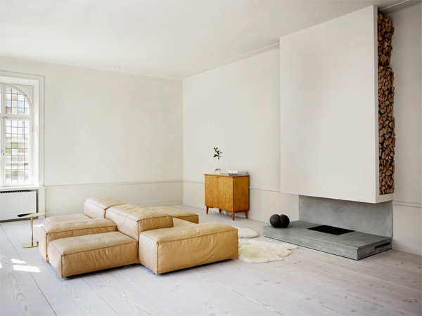 Apartment with brass cube by Claesson Koivisto Rune 05