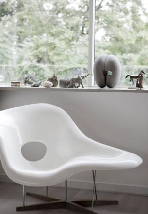 Cloud Chair and Stuff on the windowsill