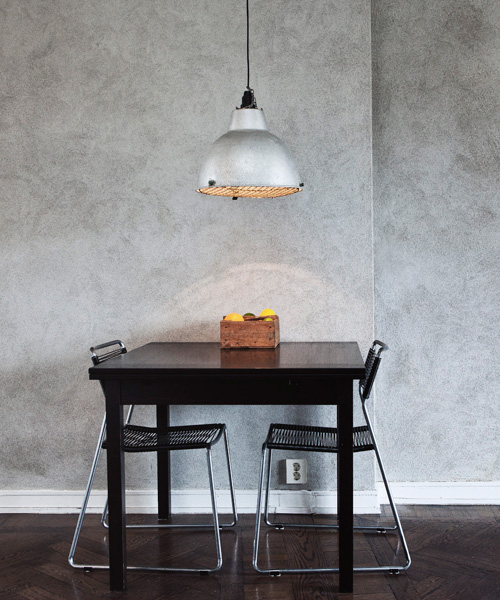 Concrete wall Industrial Light