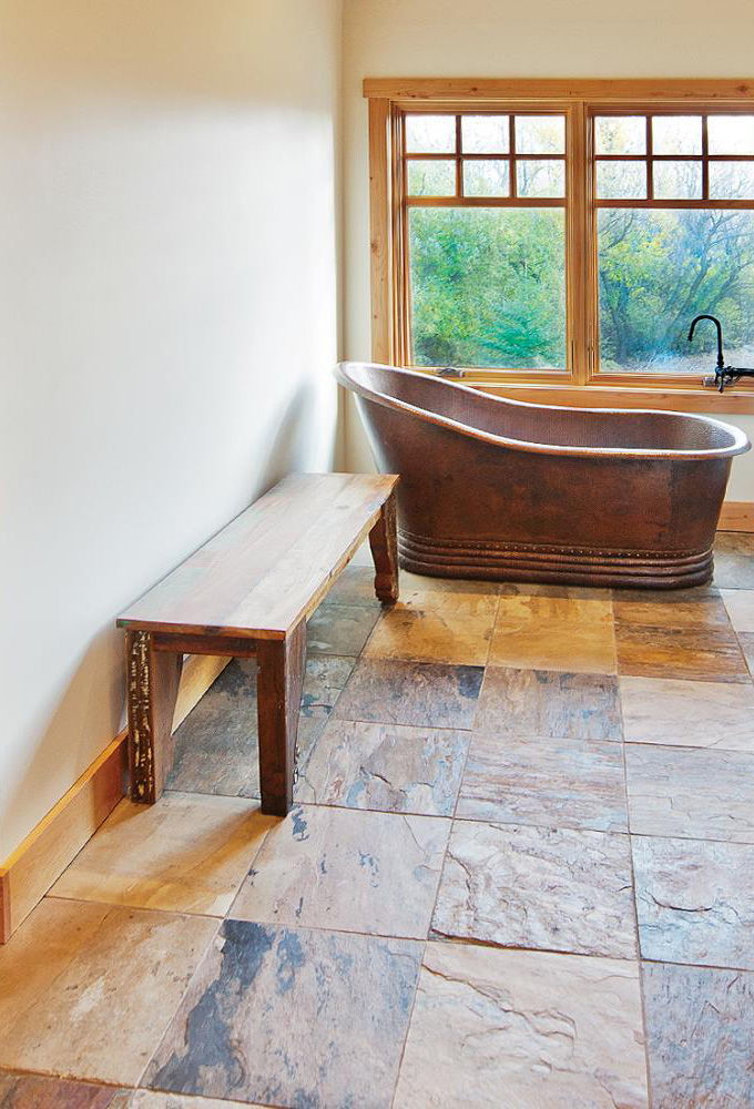 Freestanding Copper Bathtub