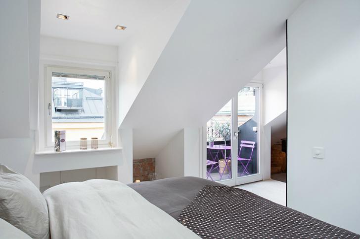 Loft loft bedroom