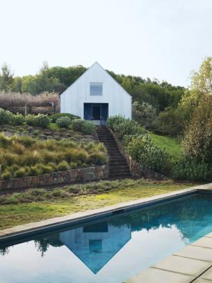 Elegant Rectangular House and Pool