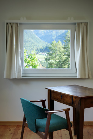 Private Corner with Little Windows