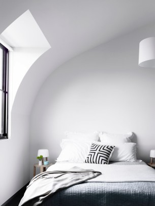 Curved Bedroom