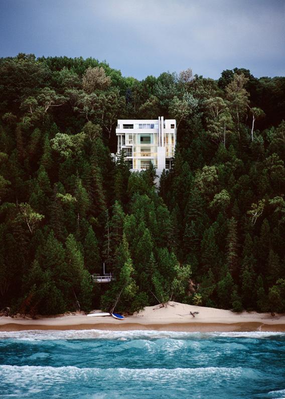 The Douglas House Michigan by Richard Meier 09