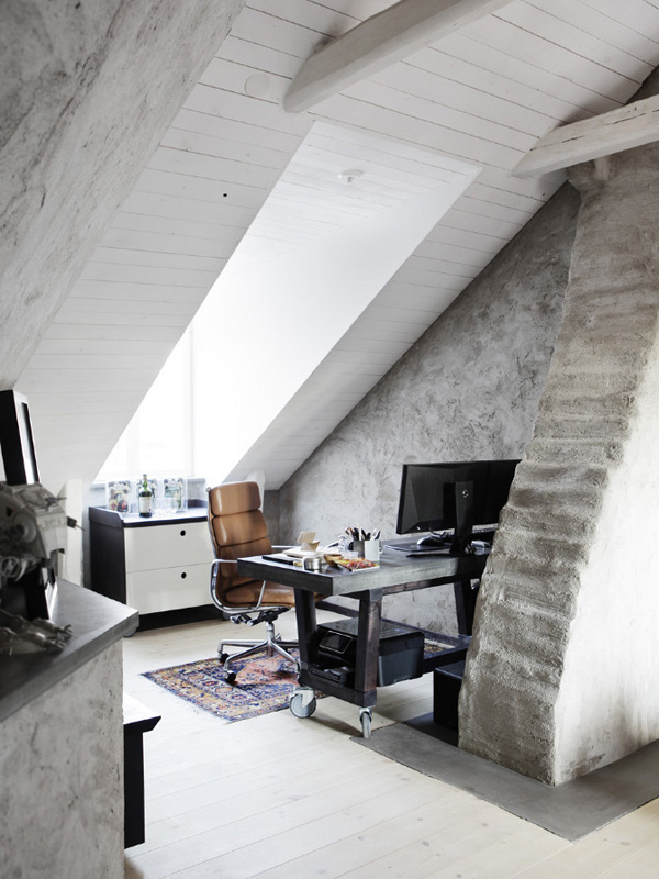 A Raw industrial apartment in Sweden Gustavs hem Stockholm