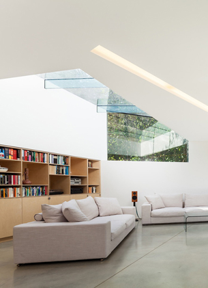 Bright and High ceiling Reading Space