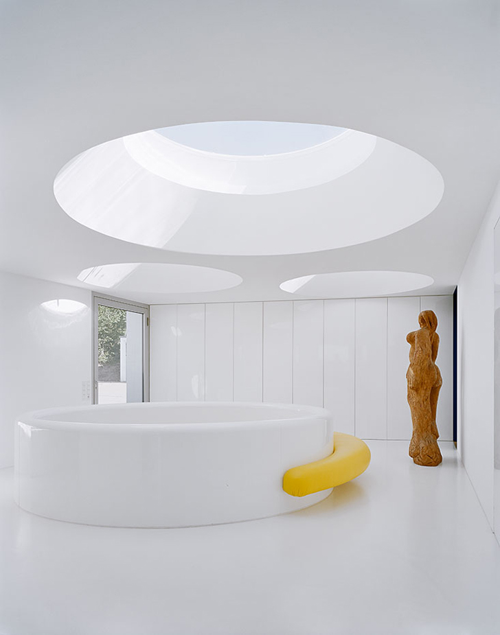 House Alb Indoor Pool  Large Round Skylights ideasgn C18