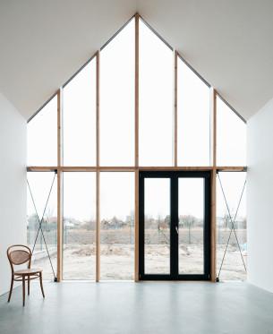 Glass Curtain House