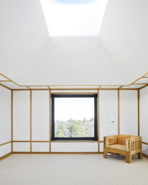 White Space with Golden Yellow interior