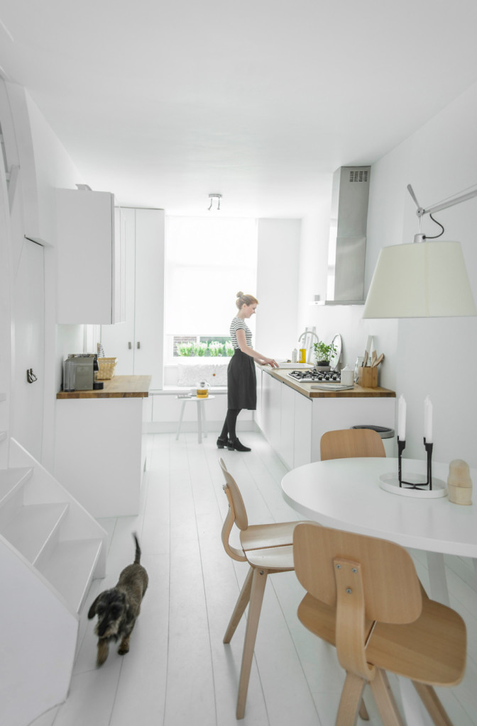 White house Kitchen in Delft by Nu interieur ontwerp 02