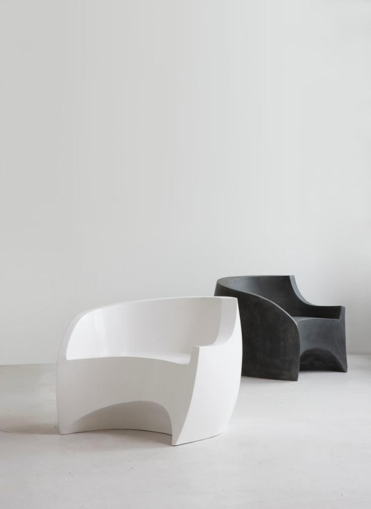 Ralph Pucci Fiberglass Chair by Vladimir Kagan