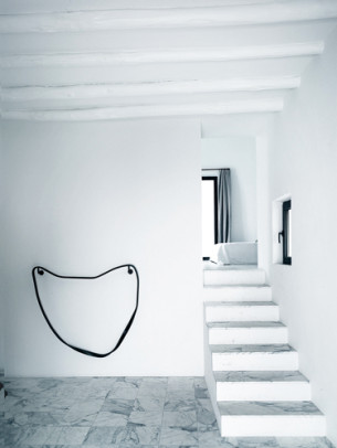 Luxury White Staircase