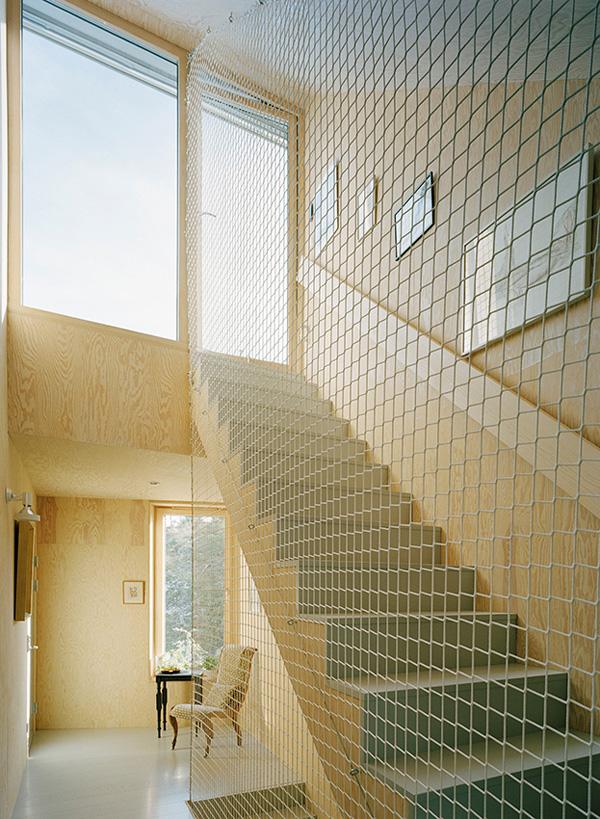 Garden house Staircase by Tham Videgard 9