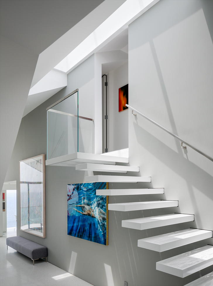 Montee Karp House Stair by Tighe Architecture 10