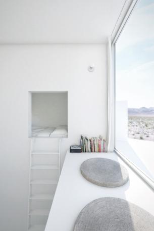 Vertical ladder to Big Eye room