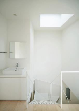 Stair, Skylight, Basin