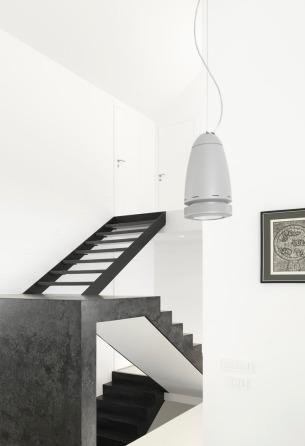White and Black Staircase