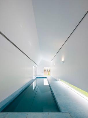 Minimalist Indoor Swimming Pool