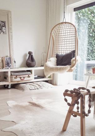 Living Hangstoel