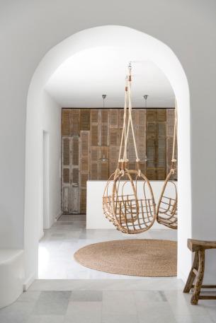 Straw Indoor Swing