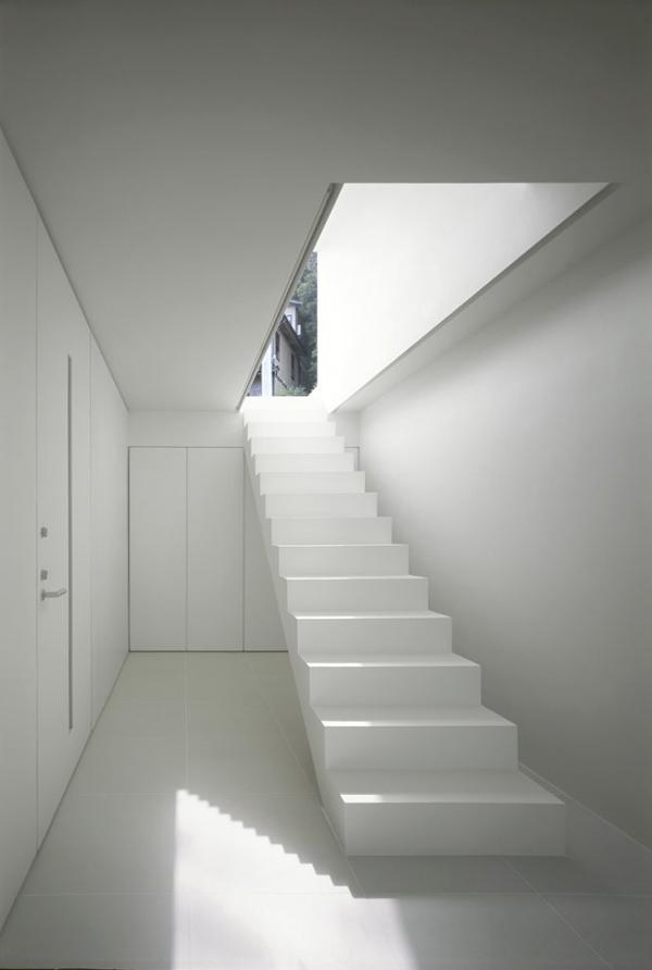 T House Sraircase by Katsufumi Kubota