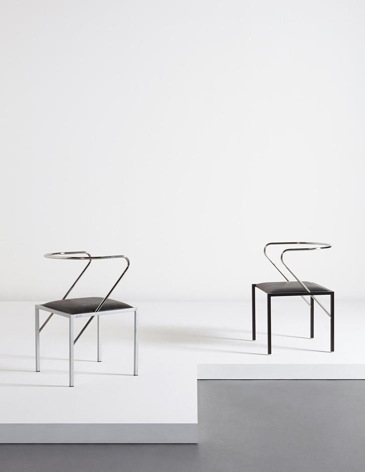 Apple Honey chaises designed by SHIRO KURAMATA 1985