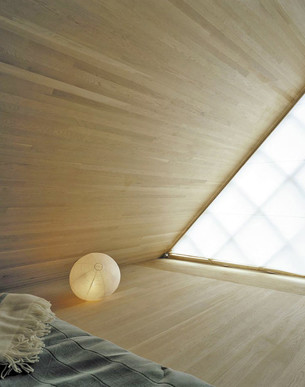 Zen Attic Bedroom