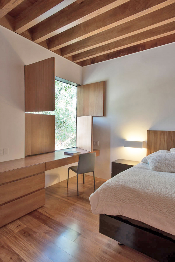 Zen Wood Windows Dream House